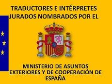 Sello Traductore Jurados España
